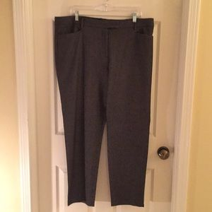 Talbots size 16 Hampshire straight leg pants